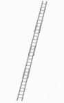 Einstellbar Rettungs Leiter - Profi-AI/HN3L - 2,6 m