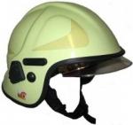 Feuerwehrhelm AK-06-09 Calisia Typ, klares Visier EN 443:2008 - Nachleuchtend
