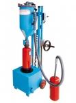 Mobile Pulverumfüllmaschine PFF-FLIPP-EK