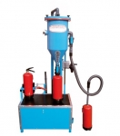 Mobile Pulverumfüllmaschine PFF-SUMATIC-SWZ