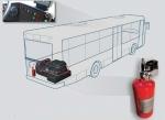 BUS VIPER – automatische Feuerlöschanlage 4 kg für Busse