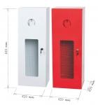 Schutzkasten für Feuerlöscher
